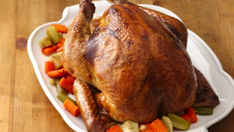 Orange-Spice Roast Turkey