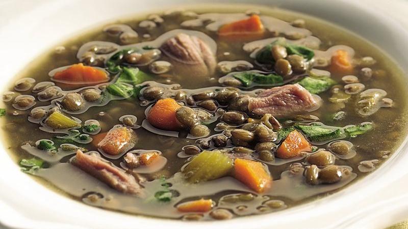 Slow-Cooker Lentil Soup recipe from Betty Crocker