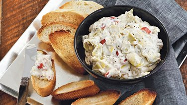 Blue Cheese Artichoke Dip