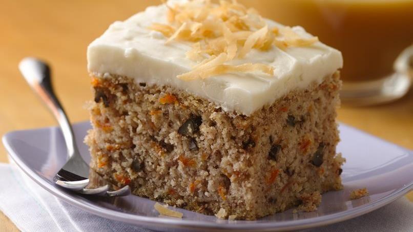 Easy Gluten-Free Carrot Cake recipe from Betty Crocker