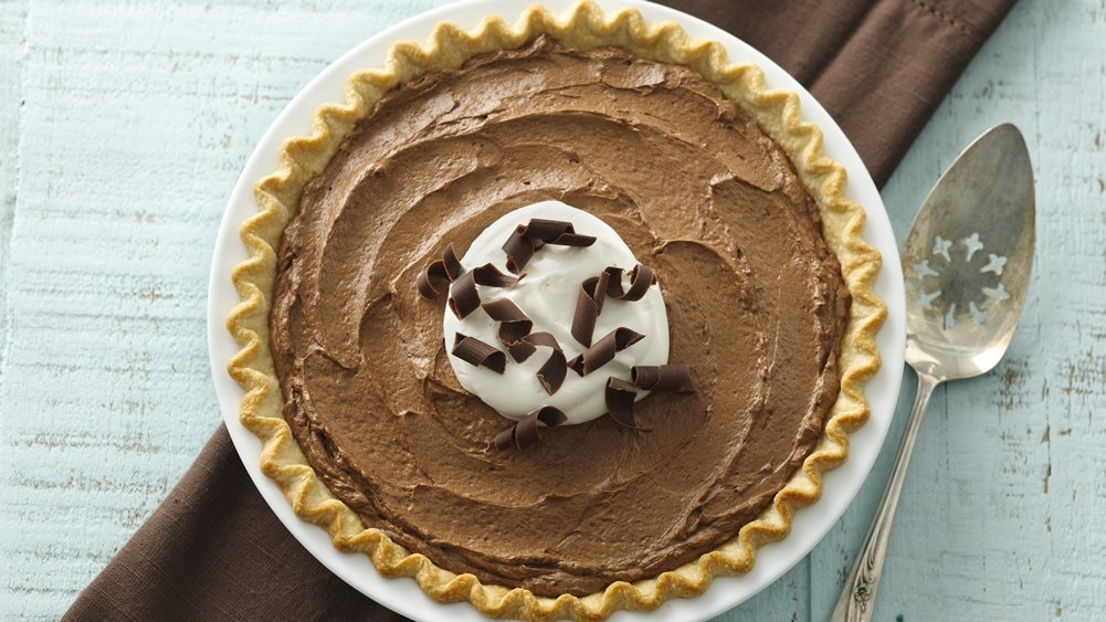 French Silk Chocolate Pie recipe from Pillsbury.com