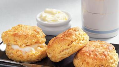 Spicy Sweet Potato Biscuits