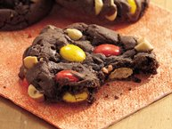 Cake Mix Peanut-Fudge Cookies