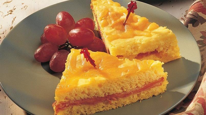 Ham and Cheese Sandwich Bake
