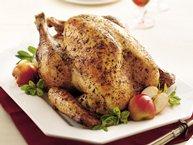 Sage and Garlic Roast Turkey
