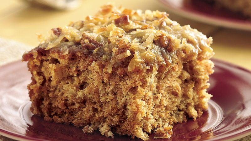 Oatmeal Cake Recipes Coconut Frosting
