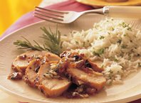 Grilled Plum-Glazed Turkey Tenderloins