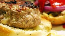 Greek-Inspired Turkey Burgers