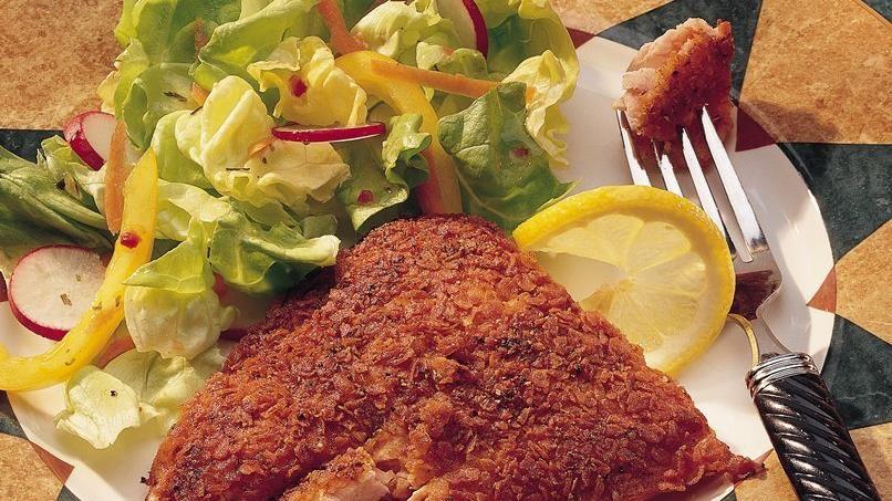 Potato-Crusted Salmon