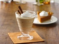 Brandy Pumpkin Pie Milkshakes