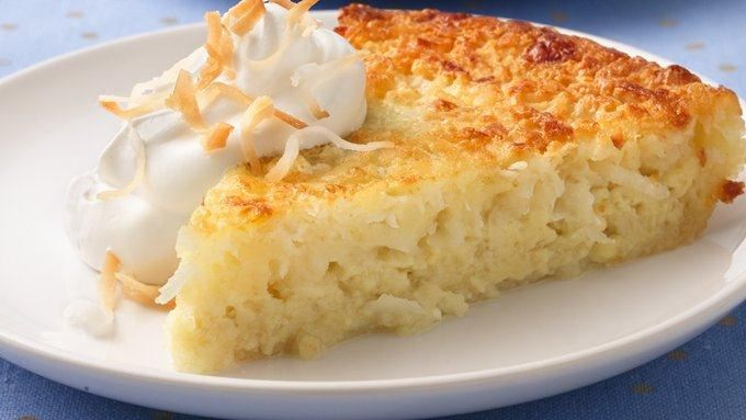 Impossibly Easy Coconut Pie recipe - from Tablespoon!