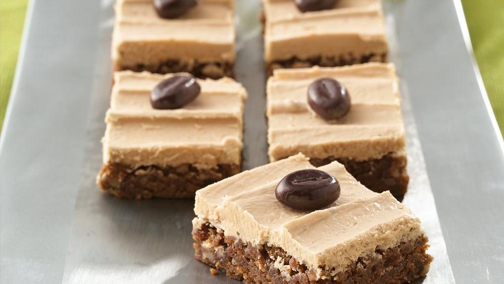 Rich Espresso Bars with Buttercream Frosting