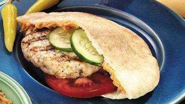 Greek Chicken Burgers