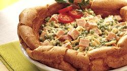 Ham and Cheese Salad Bowl