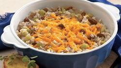 Rice and Bean Bake