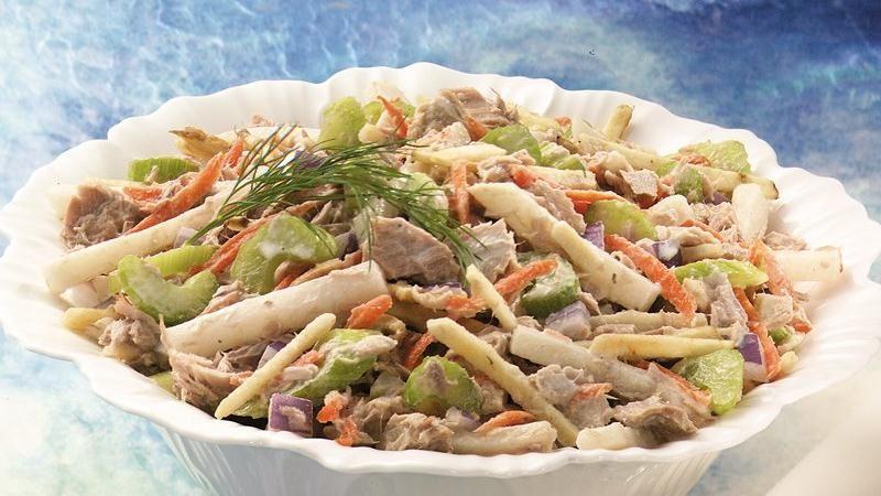 Crunchy Tuna Salad