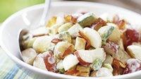 Skinny Creamy Avocado Potato Salad