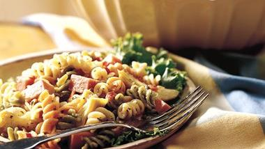 Dijon Ham and Pasta Salad