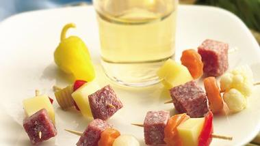 Tiny Meat and Cheese Bites