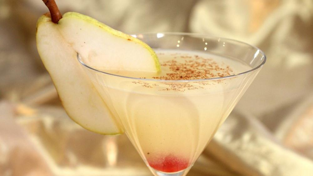 Spiced Pear Martini