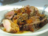 1-2-3 Pork Tenderloin with Apricot-Mustard Glaze