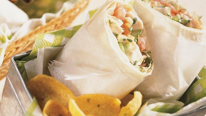 Cashew Chicken Wraps recipe - from Tablespoon!