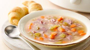 Easy Slow-Cooker Ham Bone Soup