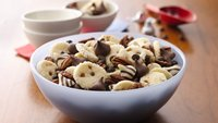 Salted Caramel Mini Cookie Snack Mix