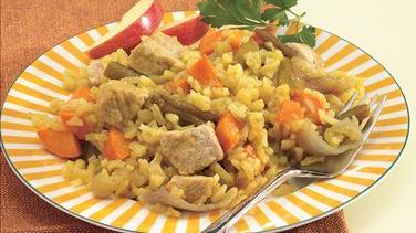 Harvest Pork, Sweet Potatoes and Rice