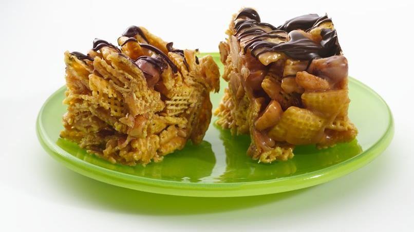 Gluten-Free No-Bake Honey Peanut Butter Bars
