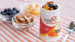 Cinnamon-Peach Crunch Yogurt Cup
