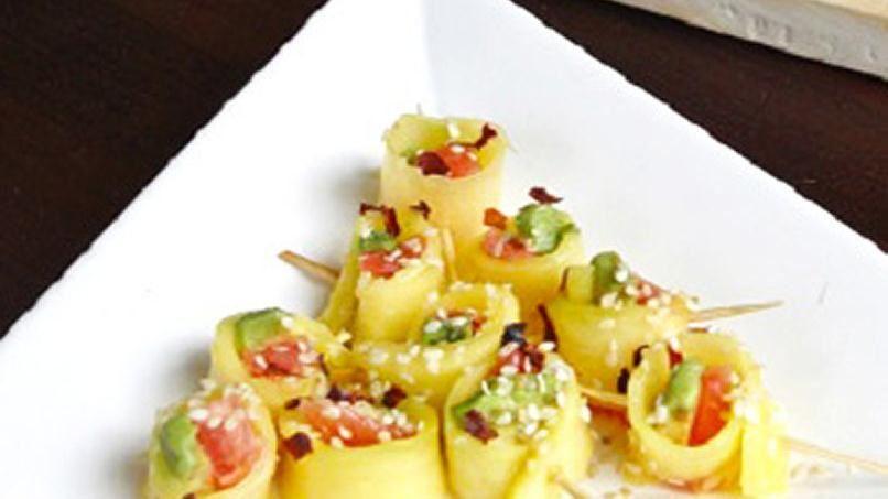 Sushi Agridulce de Frutas