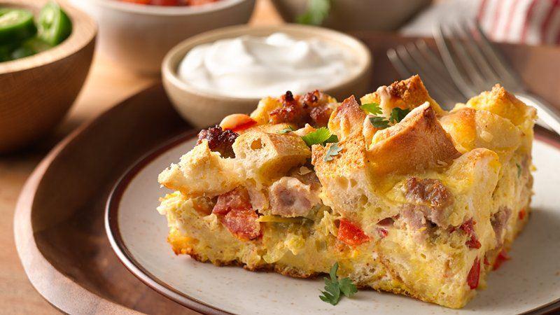 Southwestern Egg Casserole recipe from Betty Crocker