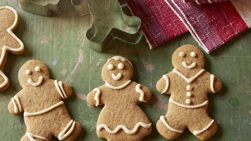 Gluten-Free Gingerbread Cutout Cookies