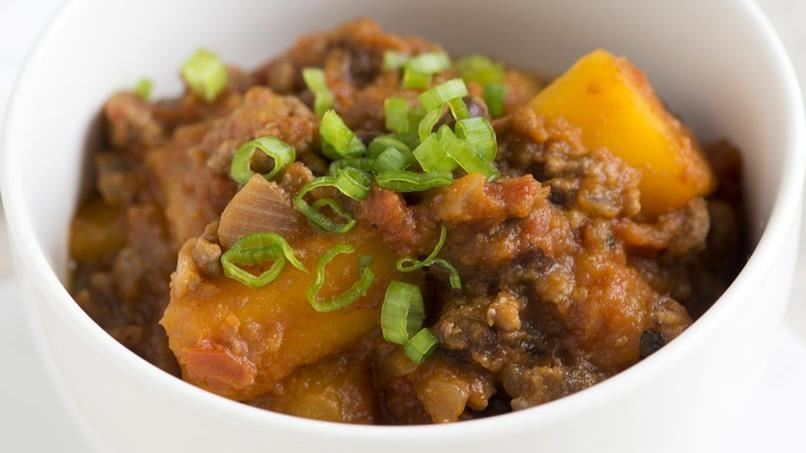 Beef, Black Bean and Squash Chili