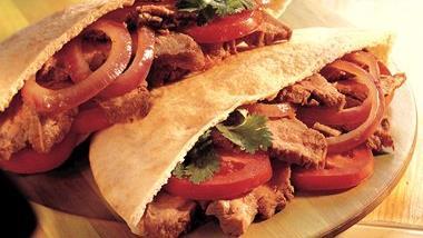 Grilled Marinated Steak Sandwiches