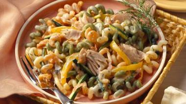 Fusilli with Smoked Salmon