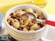 Slow-Cooker Apple Cranberry Oatmeal