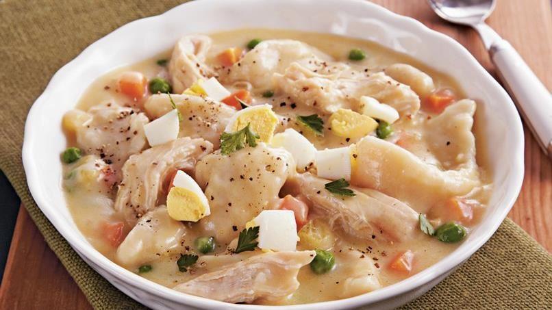 Slow-Cooker Chicken and Dumplings