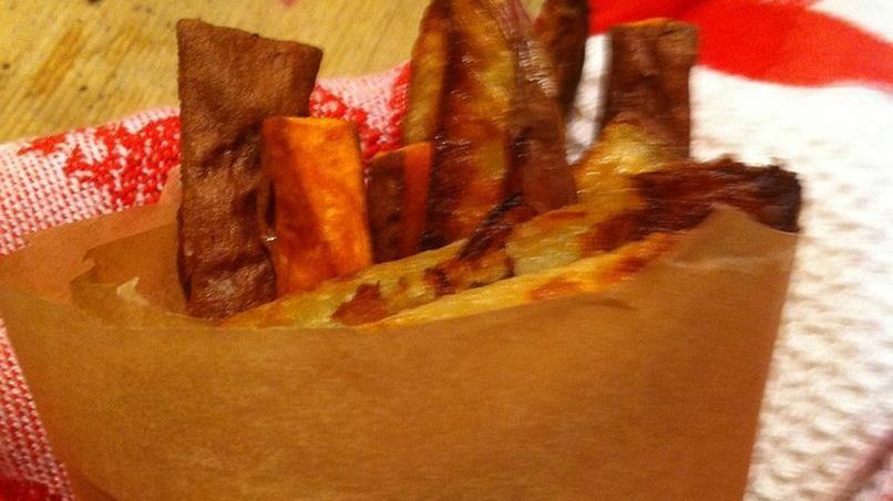 Crisp Multi-Potato Fries