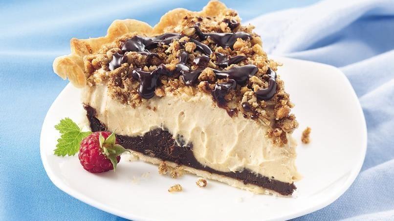 Black-Bottom Peanut Butter Pie
