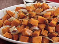 Warm Rosemary-Sweet Potato Salad