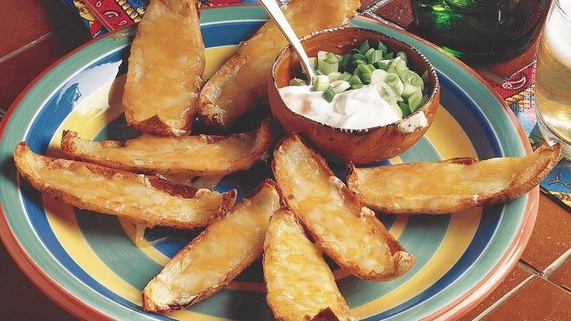 Cheesy Potato Skins