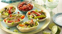 Grilled Chicken Fajita Boats