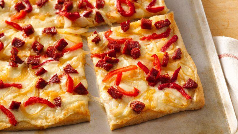 Smoky Chorizo Pizza