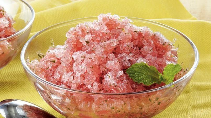 Watermelon Mint Granita