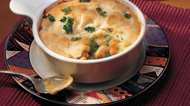 Curry Chicken Pie