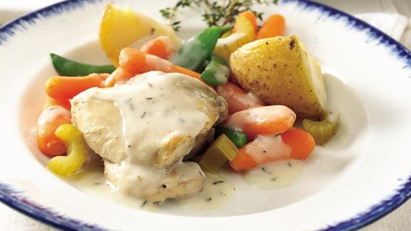 Creamy Herbed Chicken Stew