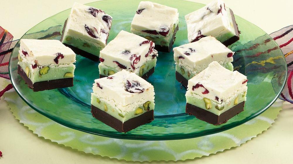 Cranberry-Pistachio Candy Squares