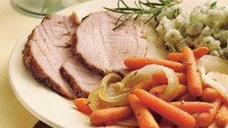 Rosemary Pork Roast with Carrots